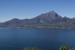 Garda lake from Crero Royalty Free Stock Images