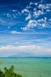 Garda lake, Desenzano, italy Royalty Free Stock Photo