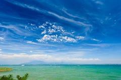 Garda lake, Desenzano, italy Royalty Free Stock Image