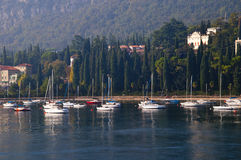 Garda on Lake Garda in Northern Italy Stock Photography