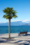 Garda lake, Italien royaltyfri bild