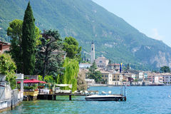 Garda lake, Italy Stock Image