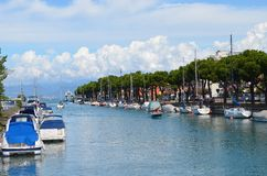 Garda lake Royalty Free Stock Image