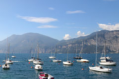 Garda Lake  (Lago di Garda) in Italy Stock Images