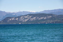 Garda Lake /Lago di Garda/, largest Italian lake Royalty Free Stock Photography