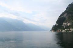 Garda. The lake near Garda in Italy royalty free stock photography
