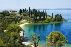 Garda lake resort in Italy Stock Photography
