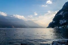 Garda Lake, Riva del Garda stock images