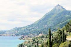Garda lake Royalty Free Stock Photo