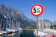 Garda lake. Royalty Free Stock Photos