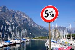 Garda lake. Royalty Free Stock Photos