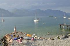 The Garda Lake Royalty Free Stock Photography