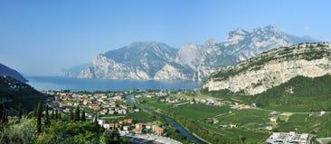 Garda Lake & Torbole - Nago Royalty Free Stock Image