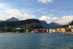 Garda Lake  Trombole Royalty Free Stock Photos