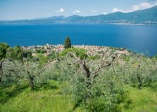 Garda Lake Stock Images