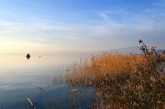 Garda Lake in Winter - Italy Stock Photography