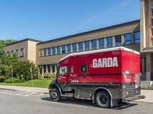 Garda security truck Stock Images