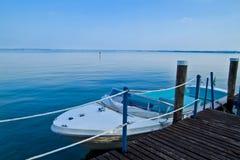 Garda See, Italien Stockfotografie