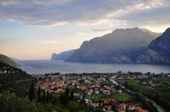 Garda See (Lago di Garda) Lizenzfreie Stockbilder