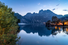 Garda See-Nordufer, Italien Stockfotos