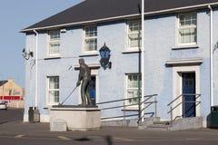 Garda station i Ballybunion ståndsmässiga Kerry, Irland Arkivfoton