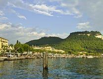 Garda. The town Garda on the lake Royalty Free Stock Photo