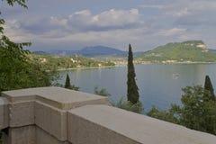 Garda. The town Garda on the lake Royalty Free Stock Images