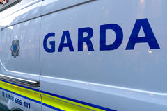 Garda vehicle Royalty Free Stock Images