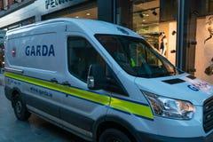 Garda vehicle Royalty Free Stock Photos