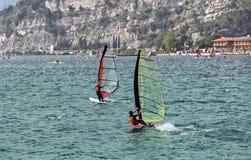 garda windsurf Zdjęcie Stock