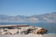 gardaitaly lake Arkivbilder