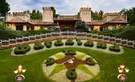 Gardaland主题乐园在卡斯泰尔诺沃德尔加尔达,意大利 免版税图库摄影