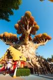 Gardaland -主题乐园-卡斯泰尔诺沃德尔加尔达 免版税库存图片