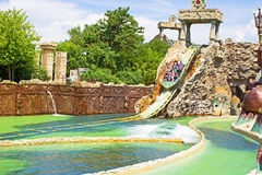 Gardaland Italie Photo stock