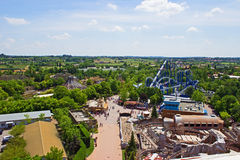 Gardaland Theme Park Stock Photos