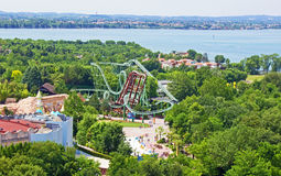 Gardaland Italy Stock Images
