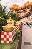 Gardaland Theme Park in Castelnuovo Del Garda, Italy. Royalty Free Stock Photography