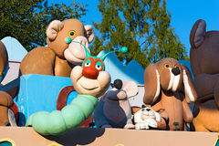 Gardaland - Theme Park - Castelnuovo del Garda Stock Image