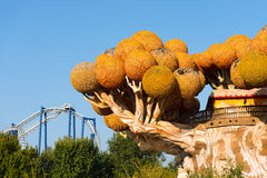 Gardaland - Theme Park - Castelnuovo del Garda Royalty Free Stock Photography