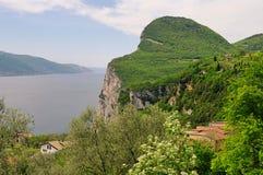 Gardasee Tremosine. Lake Garda, the plateau Tremosine Stock Image
