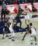 Garde Allonzo Trier Sets de l'Arizona vers le haut d'un jeu Photos libres de droits
