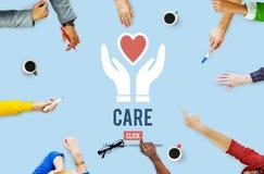 Garde Assurance Health Concept de protection de soin Image stock