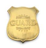 Garde Badge Image libre de droits