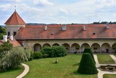 Garde of Castle Telc,Czech republic Royalty Free Stock Photo