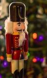 Garde Christmas Decoration de casse-noix Photographie stock