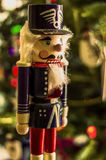 Garde Christmas Decoration de casse-noix Photo stock