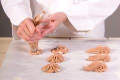 Garde czekoladowy manger Fotografia Royalty Free