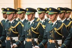 Garde d'honneur dans Tokio photo libre de droits