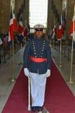 Garde d'honneur, Panthéon national, République Dominicaine  Image stock