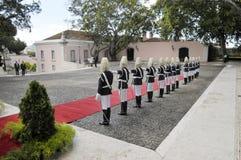 Garde d'honneur présidentielle portugaise, cérémonie formelle Photo stock